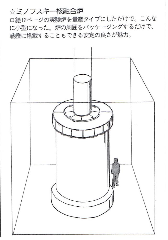 MY熱核反応炉(宇宙艦サイズ)