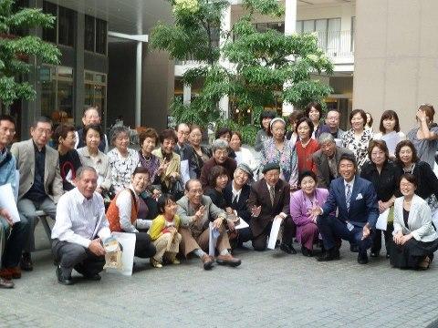 20121014しゃべる会記念撮影