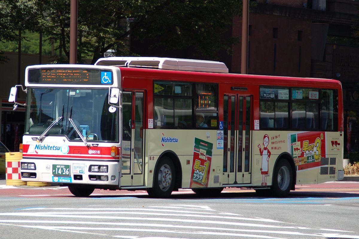 ろくどあにっき バス画像【西鉄グループ】