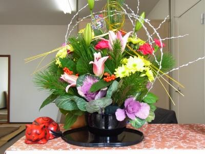 2014年花飾り