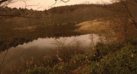 戸隠高原の小鳥ケ池