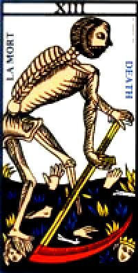 マルセイユ版タロット『死神』