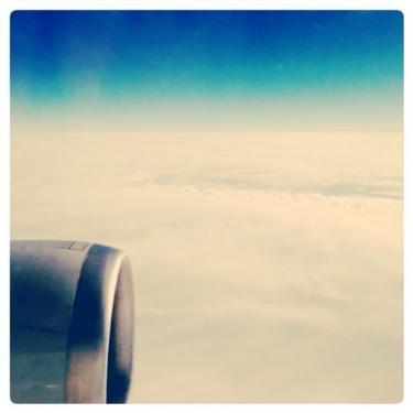 空の上は上天気