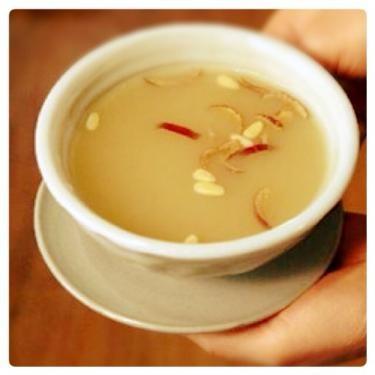 생강차(センガンチャ=生姜茶)は温まります**