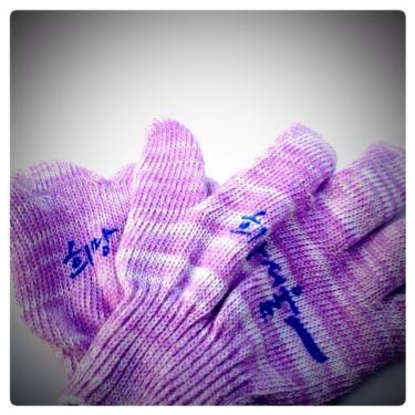 ソウル支庁のスケート場は手袋必須です☆持っていない場合は受付で500ウォンで借りれます☆