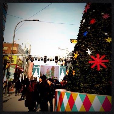 韓国の祝日のクリスマスは日中からお出掛けの人で大賑わいでした