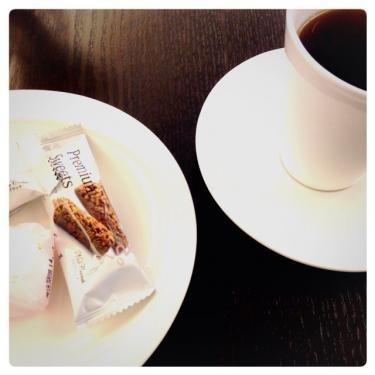 今年初のコーヒー(禁止宣告受けていたので笑)今日から解禁ㅎㅎ