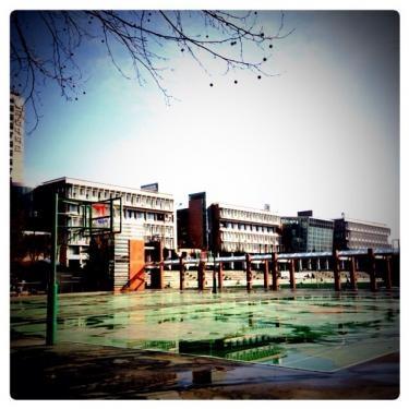 山の麓にある国民大学。冬景色のキャンパス内はもまた素敵でした*
