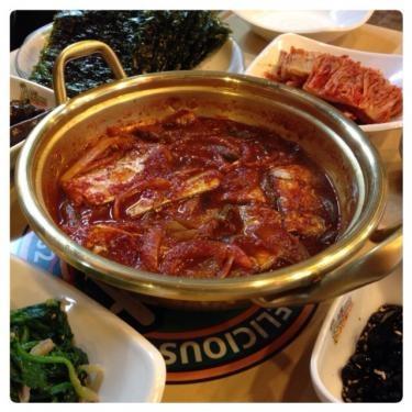 韓国の家庭の味。美味しく頂きました^^