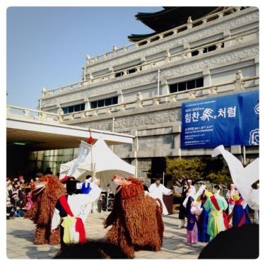 石垣島の獅子舞を思い出しました***