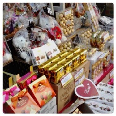 この時期は日本でも韓国でもチョコを見ない日はない?!笑