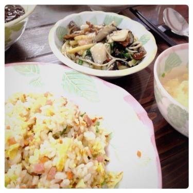 今日は中華を食しました^^美味しかったです♡