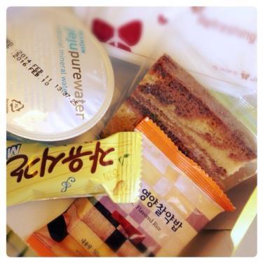 復路はJIN AIRでソウルへ。ミニお食事付き♡ㅎㅎ