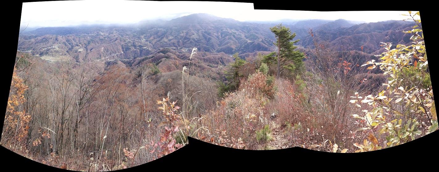 大姥山山頂パノラマ2_3