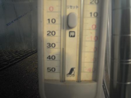発芽気温実験①
