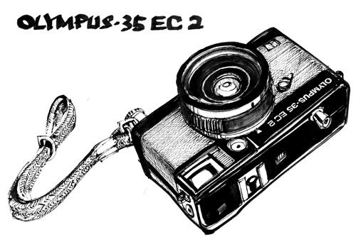 OLYMPUS 35 EC2 (black)