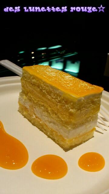 マンゴーアイスケーキ