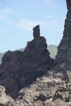 人丸島の由来、柿本人麻呂岩だそうです(2014/1/4 人丸島)