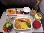 2012/4/25夕食 JL759便(成田-ホーチミン)にて