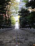 愛宕神社 出世の石段 登りつめて下を見る、何を思う?