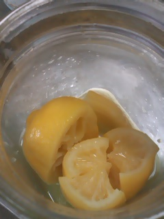 レモンの塩漬け。