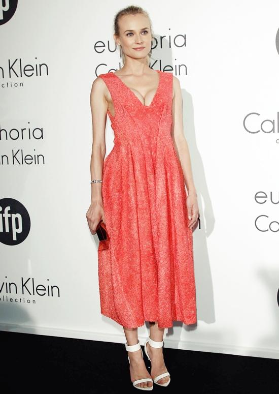 キュートな珊瑚色の天使!ダイアン・クルーガー@2012年カンヌ国際映画祭