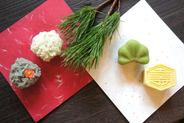 東宮 新年の和菓子 ①