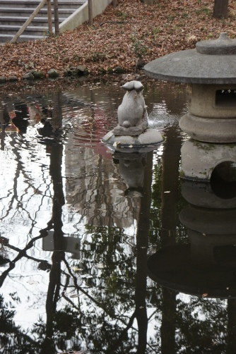 初詣2014 うめ噴水②