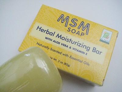 MSM Soap
