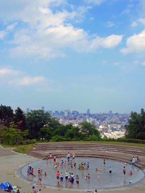 旭山記念公園にて_2