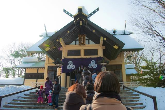 今年は月寒神社へ初詣に行ってきたよ