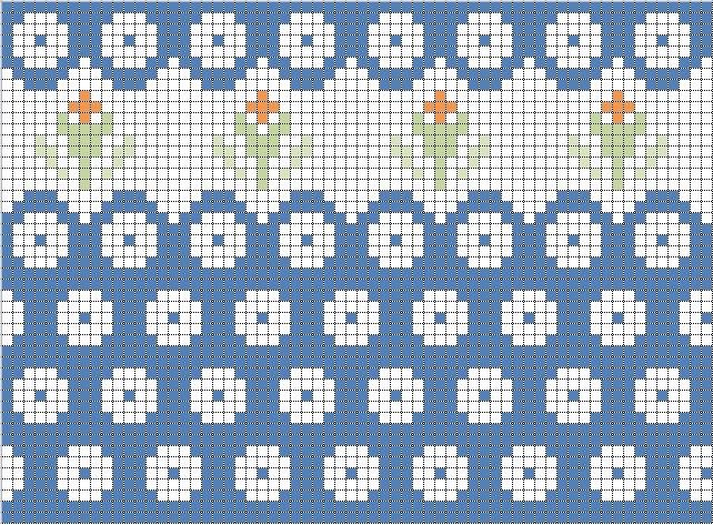 ポーリッシュポタリー編み図