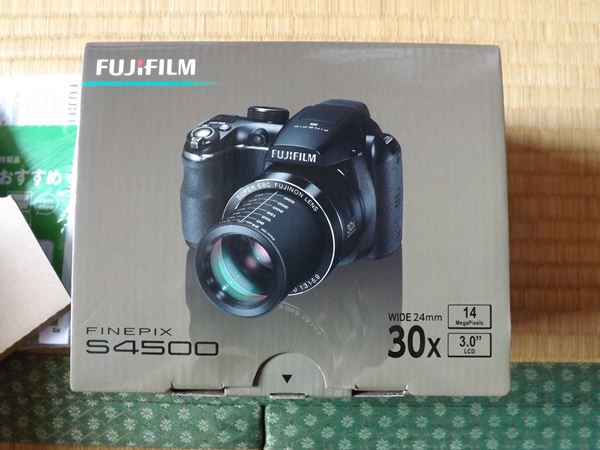 finepix S4500箱①