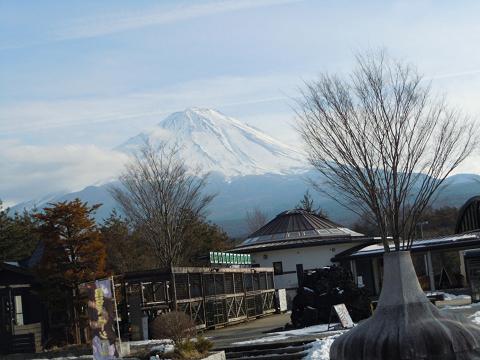 20130210鳴沢富士