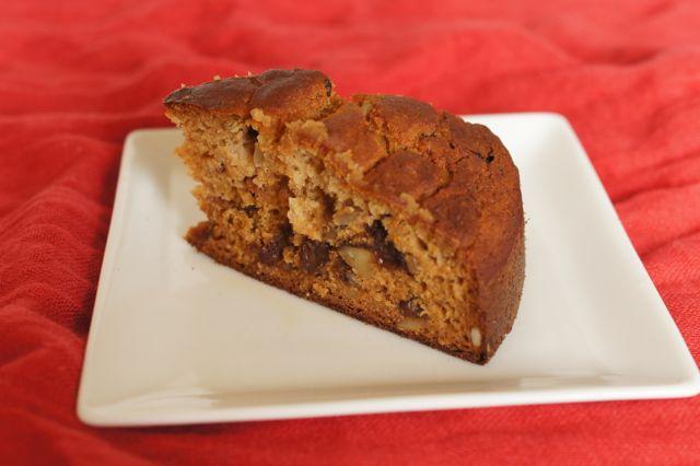 玄米粉と玄米甘酒のケーキ