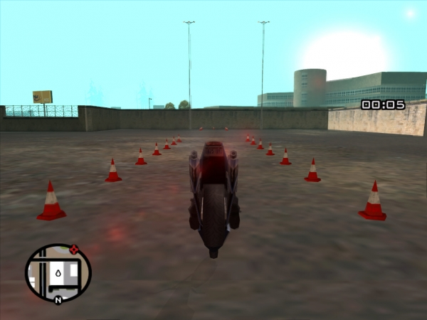 バイク教習所5