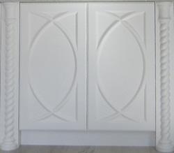アニーズキッチン アクセントドア ホワイト扉