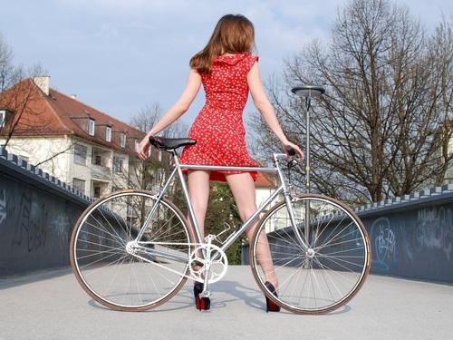 自転車!!