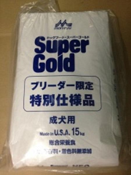 森乳 スーパーゴールド ネオ 成犬用 15kg