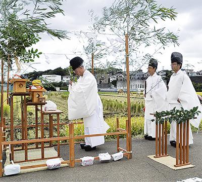 田那町の稲祭り