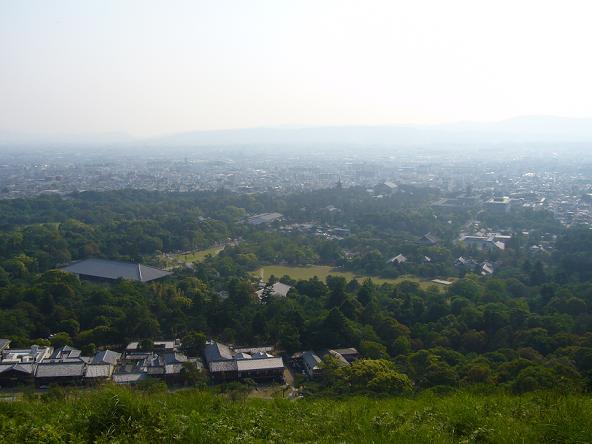 奈良路・2012.5.27若草山眺望