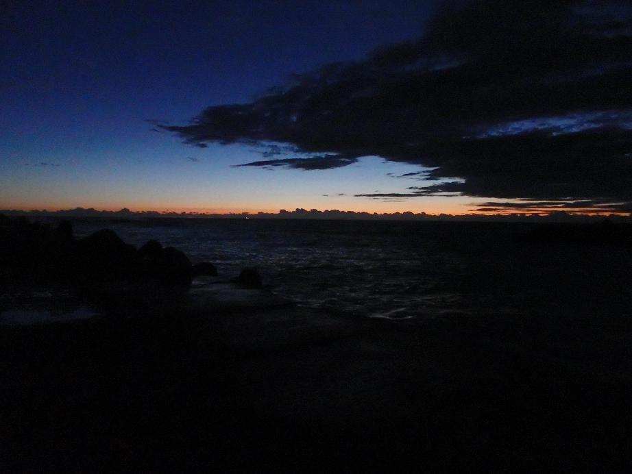 201312夜明け前@和田漁港
