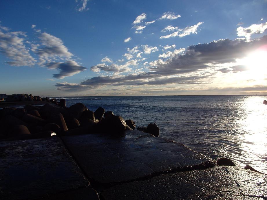 201312夜明け後@和田漁港