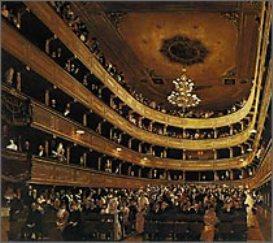 写真①ウィーン旧ブルグ劇場の観客席