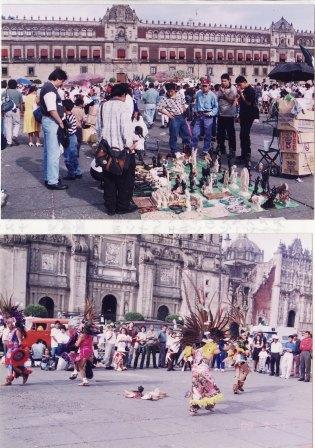 メキシコシティソカロ広場