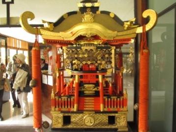 名古屋から送られた御神輿