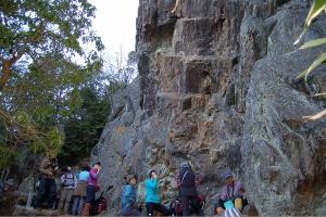 御岩神社の巨石