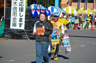 川口市民マラソン 105