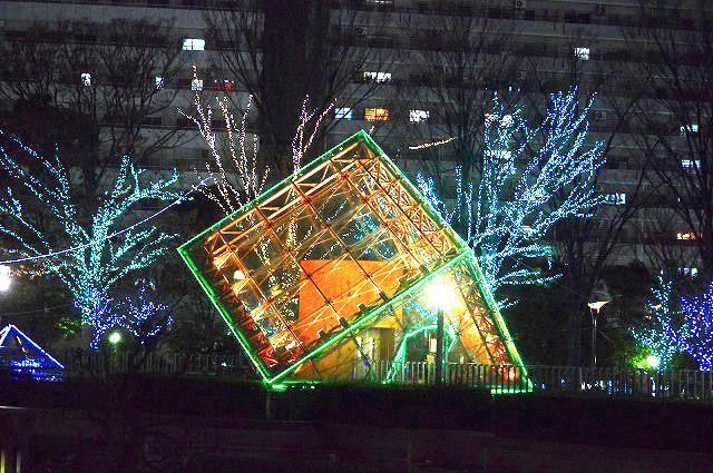 川口駅前イルミネーション 001