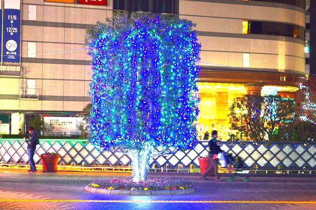 川口駅前イルミネーション 010